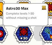 Astro30 max stamp book