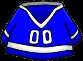 Blue Hockey Jersey clothing icon ID 278