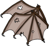 Brown Bat Wings Icon 3135