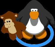 Monkey Stuffie in-game