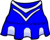 Blue Cheerleader clothing icon ID 255