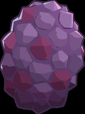 File:Prehistoric 2014 Eggs Triceratops Dark Purple.png