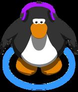 Purple Headphones in-game