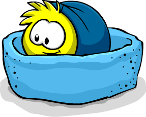 File:Yellow PuffleBed.png