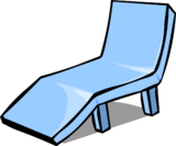 Blue Deck Chair sprite 001