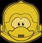 C-3PO Mask icon