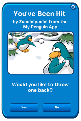 File:My Penguin App snowball hit message.png