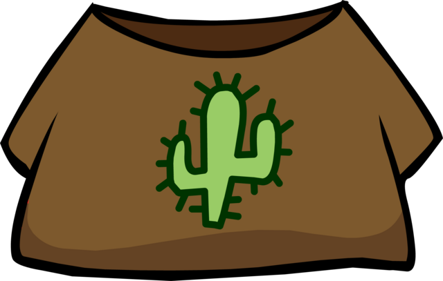 File:Western T-Shirt clothing icon ID 850.png