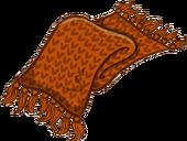 Cozy Orange Scarf