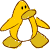 Doodle Dimension penguin Yellow