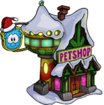 HolidayParty2013PetShopExteriorBuilding