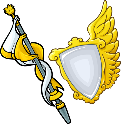 File:Gold Staff and Shield icon.png