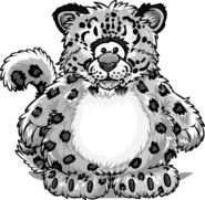Snow Leopard Costume from a Player Card