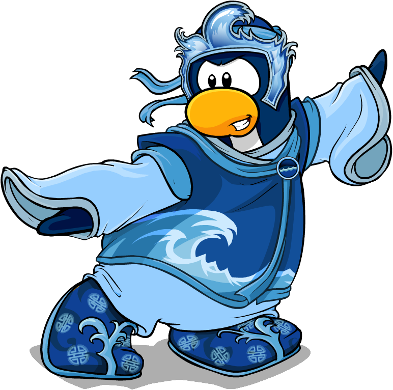 card-jitsu water | club penguin wiki | fandom powered by wikia - Club Penguin Coloring Pages Ninja