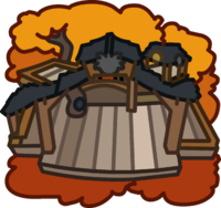 Black Puffle Tree House icon