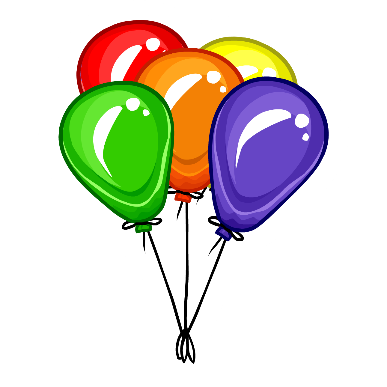 balloon bunch pin club penguin wiki fandom powered by igloo clip art white in middle igloo clip art black and white