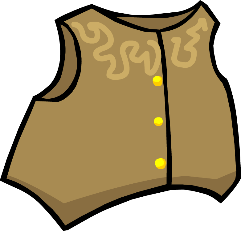 Cowboy Vest | Club Penguin Wiki | FANDOM powered by Wikia Cowboy Vest Clip Art