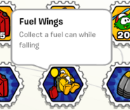 Fuel wings stamp book