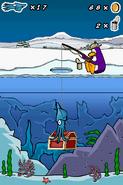 Treasure chest ice fishing DS