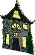 Creepy Cottage Cut-Out sprite 003