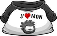 I Heart My Black Puffle T-Shirt icon fr