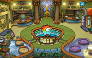 The Fair 2014 Puffle Hotel Lobby