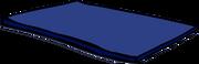 Blue Gym Mat sprite 002