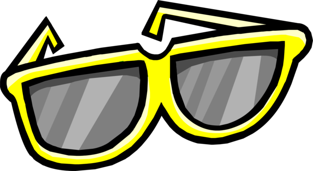 File:Giant Yellow Sunglasses.png