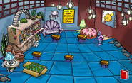 Submarine Party Book Room