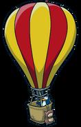 Super Hero Bounce Hot Air Balloon