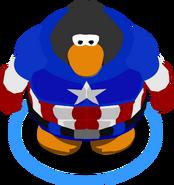 Captain America Bodysuit ingame