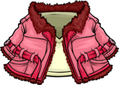 Pink Winter Coat clothing icon ID 4134