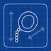 Blueprint monocle icon