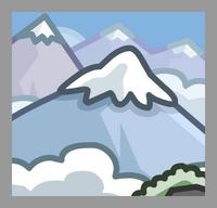 Mountain Location icon