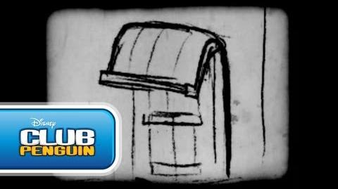 NEW! Night of the Living Sled 4 Storyboards (2010) Club Penguin