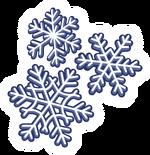Snow Flakes Pin