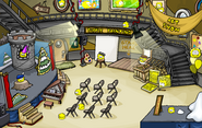 Puffle Party 2010 Lighthouse