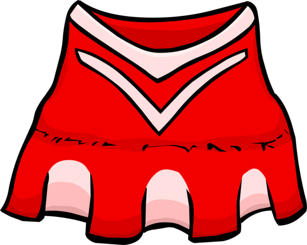 File:Red Cheerleader Outfit clothing icon ID 254.png