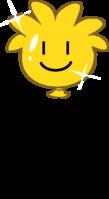 Gold Puffle Balloon icon