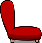 Red Plush Chair sprite 007