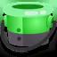 Ink or Swim green bucket icon