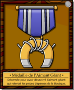 Mission 3 Medal full award fr