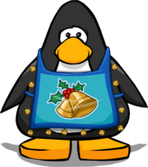 Jingle Apron Player Card