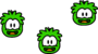 Operation Puffle Post Game Puffles Animation Green