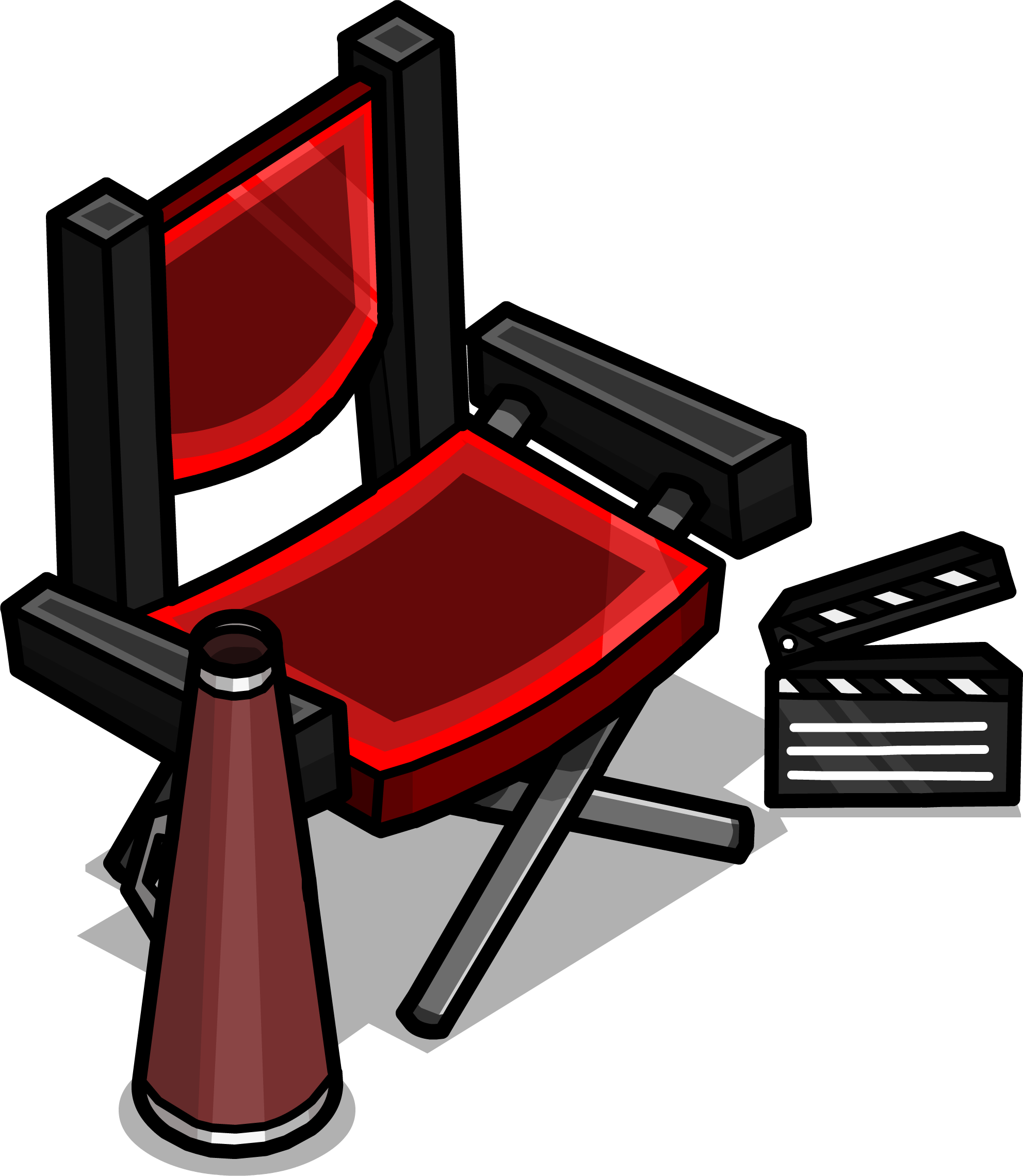 Directors chair png - Director S Chair Sprite 003 Png
