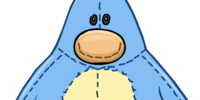 Blue Penguin Stuffie Costume