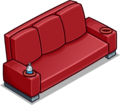 Red Designer Couch sprite 030