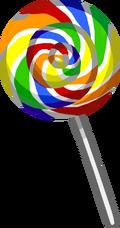 Rainbow Lollipop Puffle Food