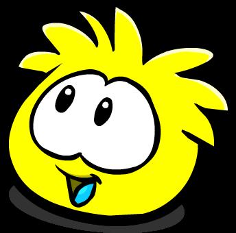 File:Yellow PuffleLookingLeft.png