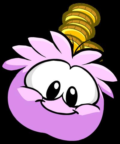 File:Pink PuffleCoin.png